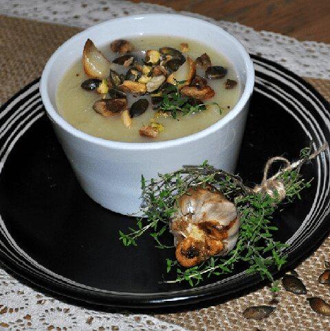 супа с пащърнак и целина