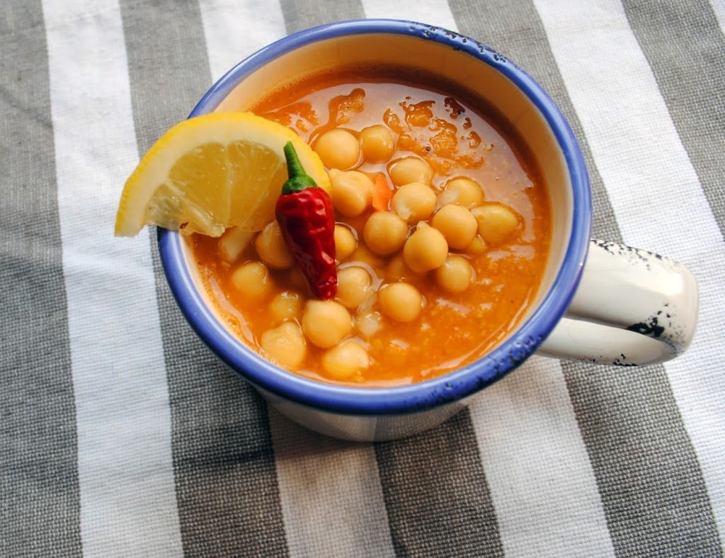 Carrot_ chickpeas_ soup/Морковена супа с нахут