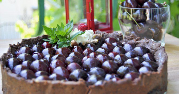 шоколадов тарт Пияната череша