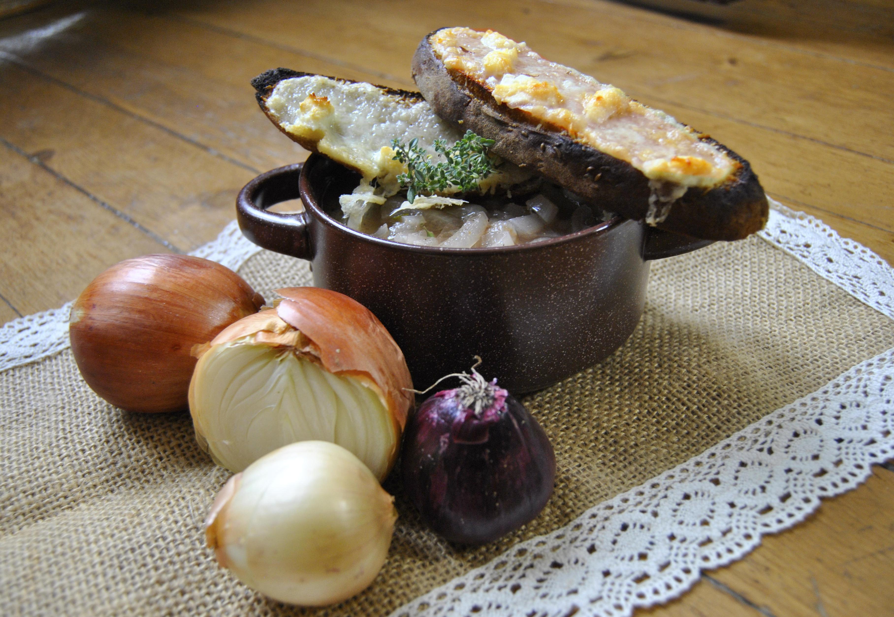 Лучена супа с Перно и вишновка