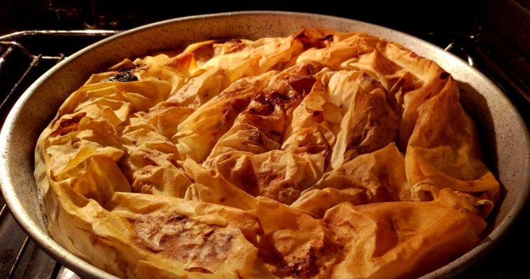 pumpkin pie whit honey/Тиквеник с мед