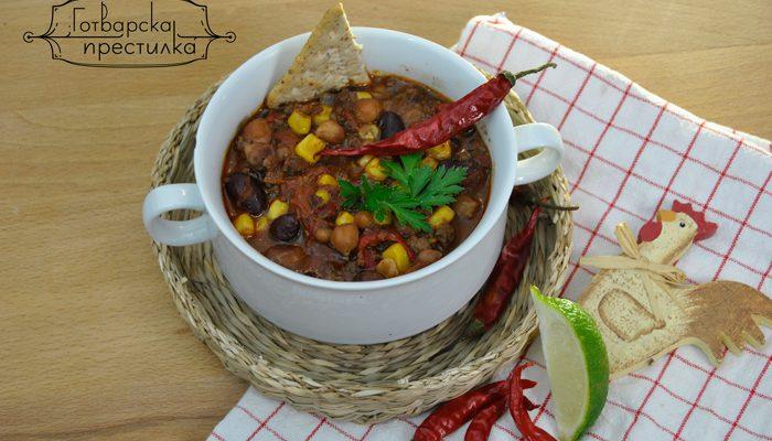Чили кон карне - Супа на дявола