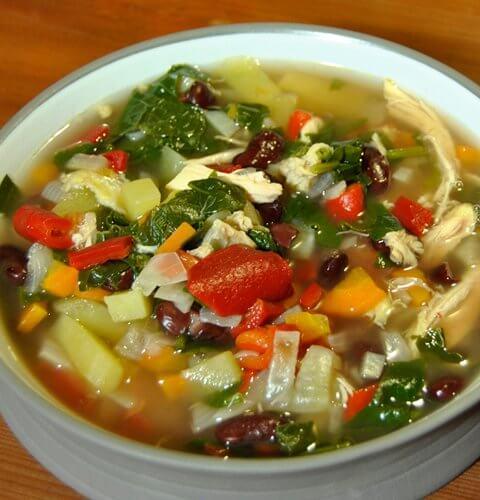 пилешка супа от Тоскана