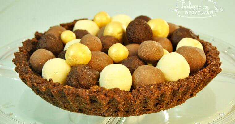 Торта шоколадова любов
