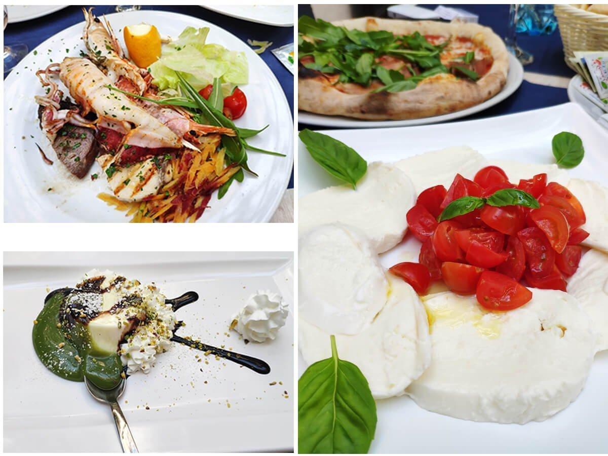 храната в Остуни