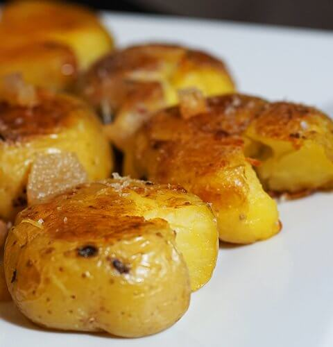 хрупкави картофи на фурна