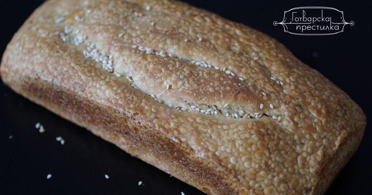 Бавно втасвал хляб с квас