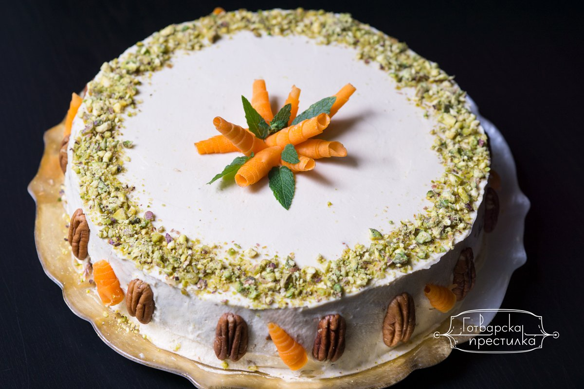 Морковена торта без захар