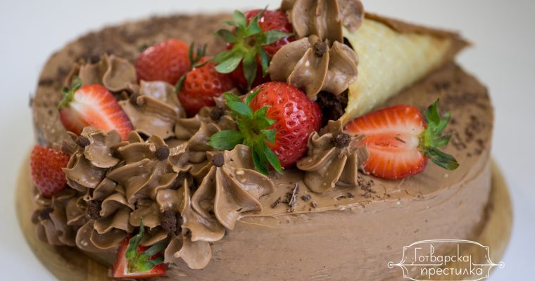 Шоколадова торта с Дулсе де лече
