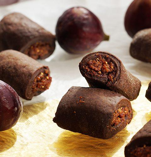 рулца със свежи смокини-без млечни и захар