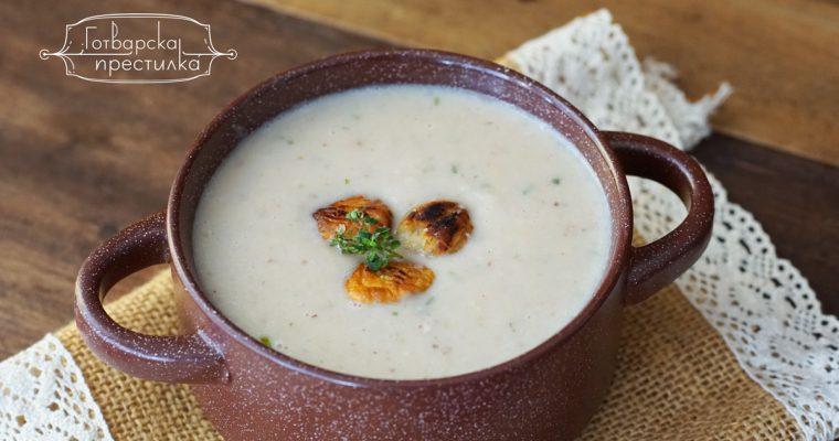 Френска кестенова супа