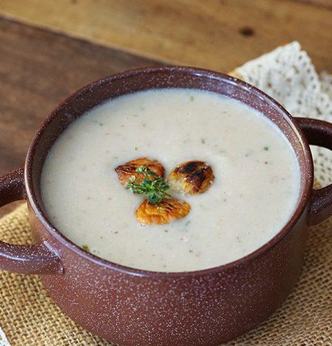 френска супа от кестени