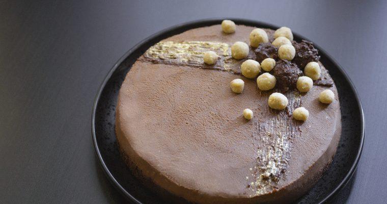 шоколадова торта с кестенов крем