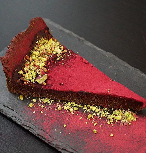 безглутенов шоколадов тарт