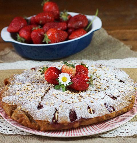 гръцки сладкиш с ягоди